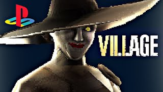 Here is what Resident Evil Village would look like as a 32-bit game
