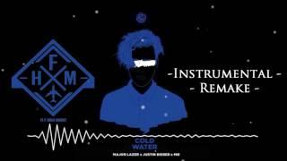 Major Lazer - Cold Water (feat. Justin Bieber & MØ) (Remake - Instrumental) FL STUDIO