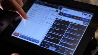 SWS VR100 Cafe Bar Restaurant Android EPOS Till System Cloud Software