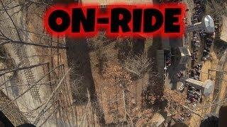 The Giant Barn Swing On-ride (HD POV) Silver Dollar City
