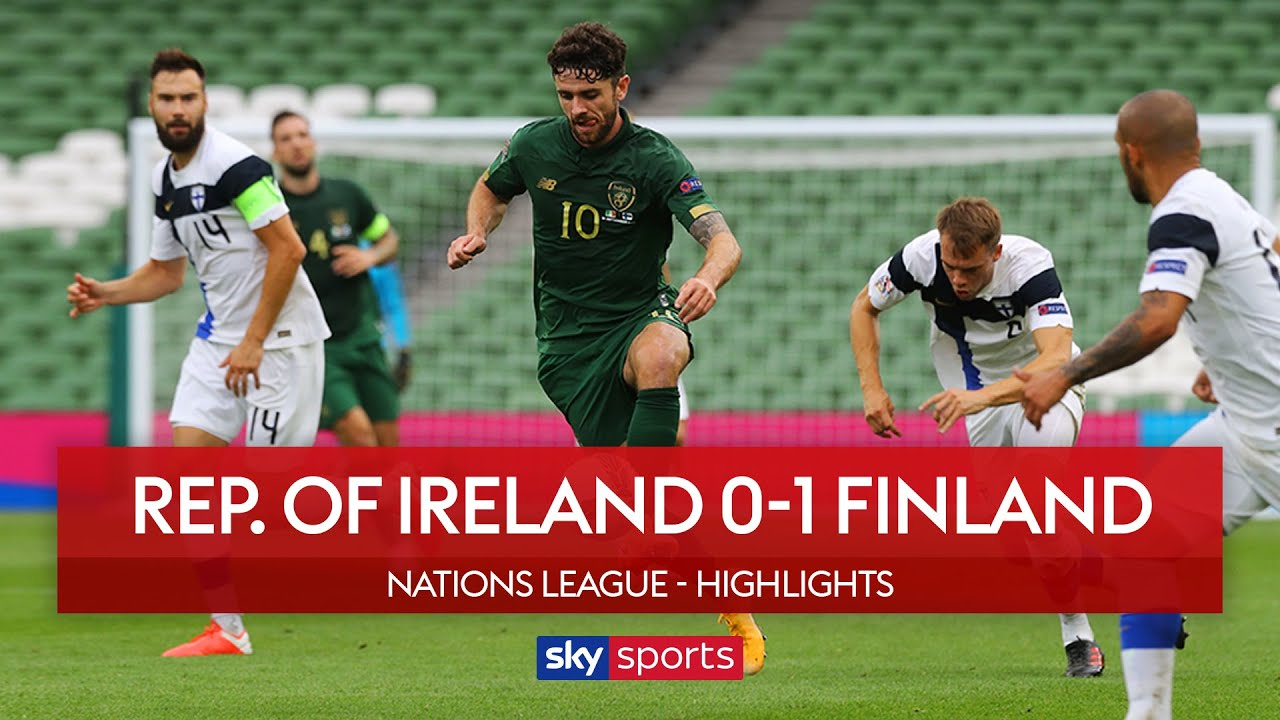 Kenny still winless after Finland Defeat | Rep. of Ireland 0-1 Finland