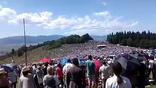 Székely himnusz a Csíksomlyói Búcsún 2017-ben