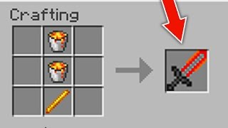✔ Minecraft - 10 Crafting Recipies I want (PC/Xbox360/PS3/XboxOne/PS4/PE)