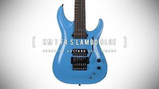SCHECTER KM 7 FR S LAMBO BLUE