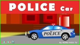 police cars for children | police car cartoon for children | Police Car Videos for Children