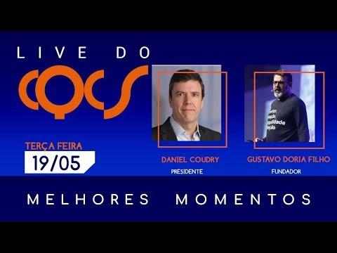 Imagem post: Telemedicina, distribuição e compromisso. Confira os melhores momentos da live com Daniel Coudry