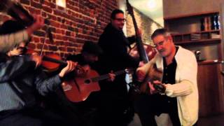 Tcha Limberger Trio Dinner Concert - later that evening - part 4 - extra guitarist