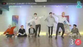 290818 Suga Dancing Seesaw in Vlive