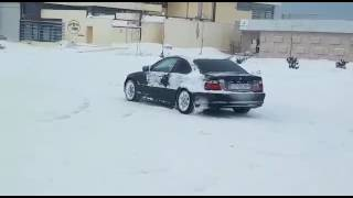 BMW E46ci-Snow Fun