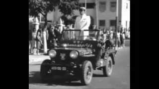 Desfile Bombeiros Lubango - Angola - Anos 60 / 70