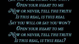 Evanescence- Say You Will (Lyrics)