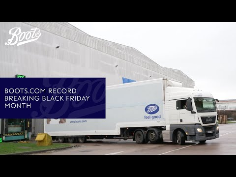 Boots.com record breaking Black Friday month | Boots UK