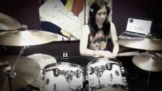 First Date - Blink 182 - HD Drum Cover By Devikah