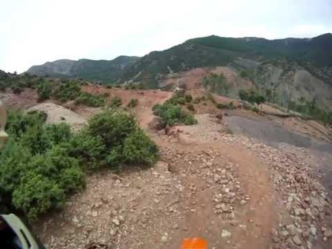 Enduro Maroc: Inaccessible Berber village (Hard road back)