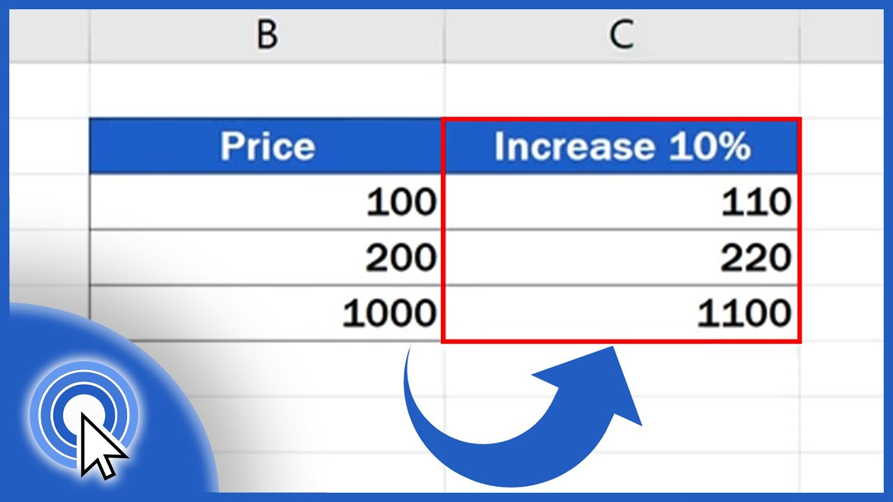 How to Calculate Percentage Increase in Excel