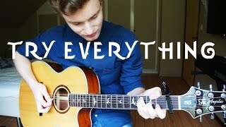 Shakira - Try Everything - Guitar Cover (Music) | Mattias Krantz