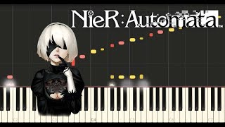 NieR - Emil Despair (Synthesia Piano Tutorial)