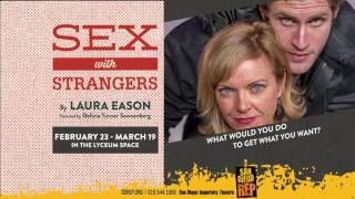 Sex with Strangers at San Diego Repertory Theatre, February 23 - March 19