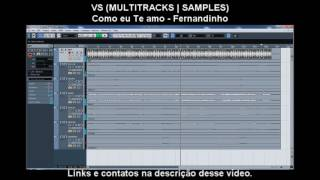VS (MULTITRACKS | SAMPLES - COM PIANO) COMO EU TE AMO - FERNANDINHO