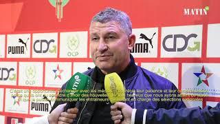 Osian Roberts : «Notre mission est de développer une identité de jeu marocaine»