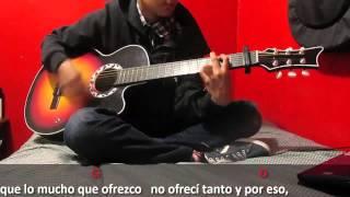 Sebastian Viveros   Guitar Cover   Pxndx - Nuestra afliccion   Acordes   Letra