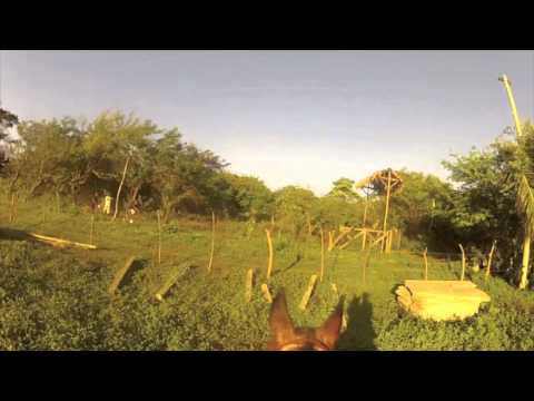 Crazy Horse Ride in Nicaragua with the GoPro video