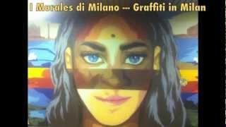 Graffiti wild style Writing - Milan Street Art