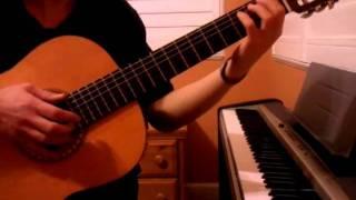 """Intro de """"Un Beso"""" por la guitarra - Aventura"""