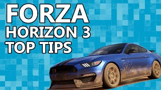 Forza Horizon 3 - Top Tips For Starting Out