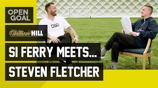 Si Ferry Meets... Steven Fletcher | Making a Name at Hibs, EPL Days w/ Burnley, Wolves & Sunderland