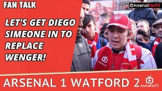 Let's Get Diego Simeone In To Replace Wenger! | Arsenal 1 Watford 2