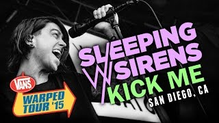 "Sleeping With Sirens - ""Kick Me"" LIVE! Vans Warped Tour 2015"