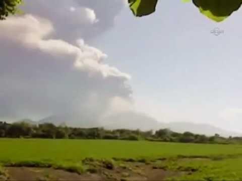 San Cristobal in Nicaragua wieder aktiv (Ohne Worte), EBRU TV