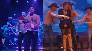 'Bachelor' Couple Jared Haibon and Ashley Iaconetti Dance at Chippendales