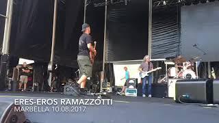 Prueba Guitarra - Eros Ramazzotti (Marbella 10.08.2017)