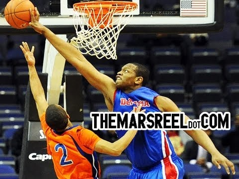 BeeJay Anya Has The Largest Wingspan In High School Ever! #1 Center In Class of 2013!