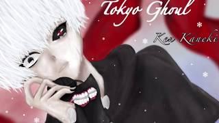 [東京喰種・Tokyo Ghoul] 金木研 Ken Kaneki  描いてみた