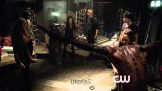 The 100: Octavia save Finn 1x07 (sub ita)