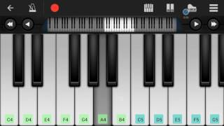 Dhoom Machale Song | Piano Cover | Perfect Piano apk