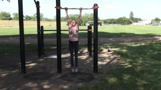 Little Girl Does 26 Perfect Form Pullups! - Best on YouTube