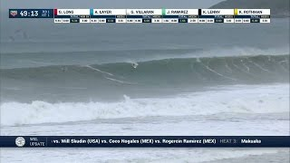 Kai Lenny Gets Tubed -- and Punished -- at Puerto