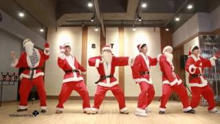 B.A.P - Be Happy Dance Practice Mirrored Xmas Ver.