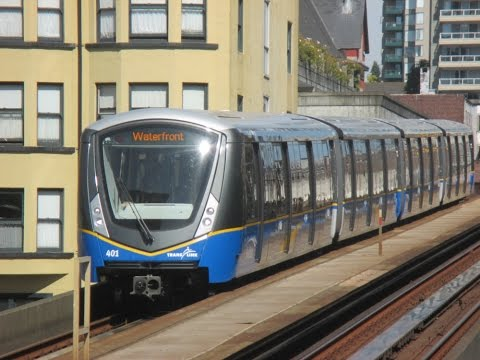 Vancouver Skytrain and Canada Line In Action II - Aug. / Sep. 2016