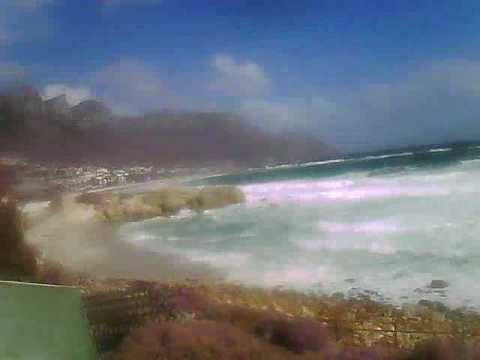 Timelapse Video – Glen Beach & Camps Bay – 08/08/2010