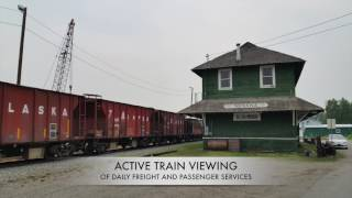 Nenana's Historic Alaska Railroad Depot