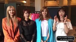 JOYDANCE PLUG IN MUSIC ACADEMY | 아카데미 수강생 응원영상 | 가수 'EXID'