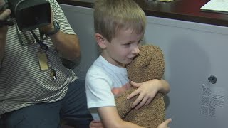 Happy Video: Young North Texan Reunited With Teddy Bear