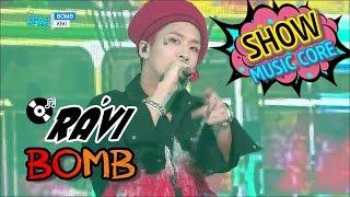 [HOT] RAVI - BOMB, 라비 - BOMB Show Music core 20170114