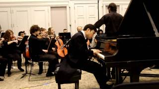 Henry Wong Doe performs Mozart's Piano Concerto No. 23 in A Major, K. 488
