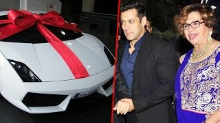 Salman Khan's GIFT CAR For His Second Mother Helen On Her Birthday